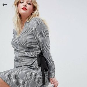 ASOS Curve Wrap Dress